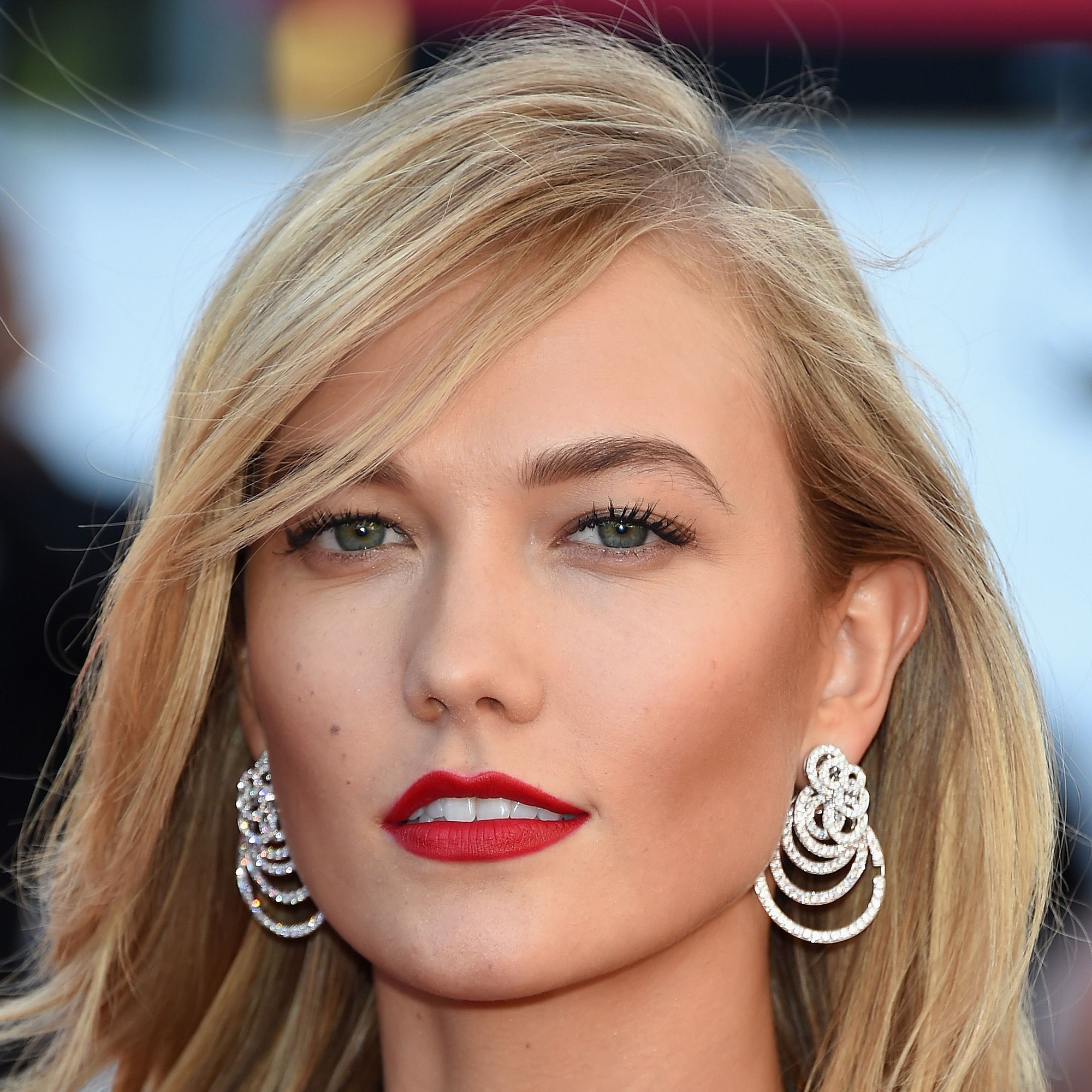 """CANNES, FRANCE - MAY 20: Karlie Kloss attends the """"Youth""""  Premiere during the 68th annual Cannes Film Festival on May 20, 2015 in Cannes, France.  (Photo by Venturelli/WireImage)"""