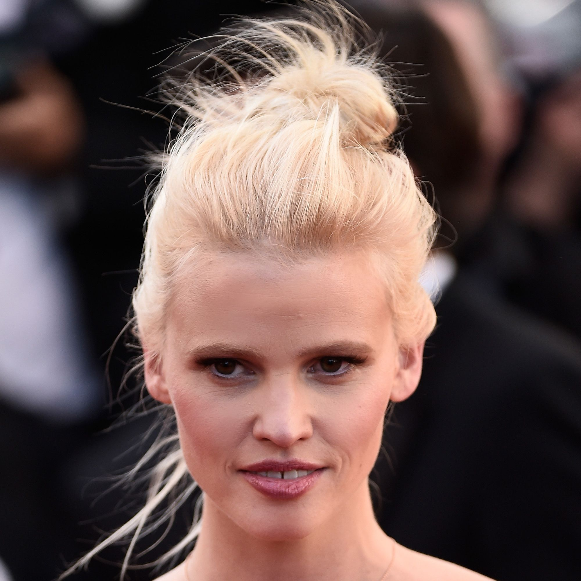 """CANNES, FRANCE - MAY 20:  Lara Stone attends the Premiere of """"Youth"""" during the 68th annual Cannes Film Festival on May 20, 2015 in Cannes, France.  (Photo by Ian Gavan/Getty Images)"""