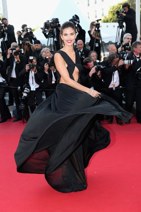 "CANNES, FRANCE - MAY 18: Model Sara Sampaio attends the Premiere of ""Inside Out"" during the 68th annual Cannes Film Festival on May 18, 2015 in Cannes, France.  (Photo by Gisela Schober/Getty Images)"