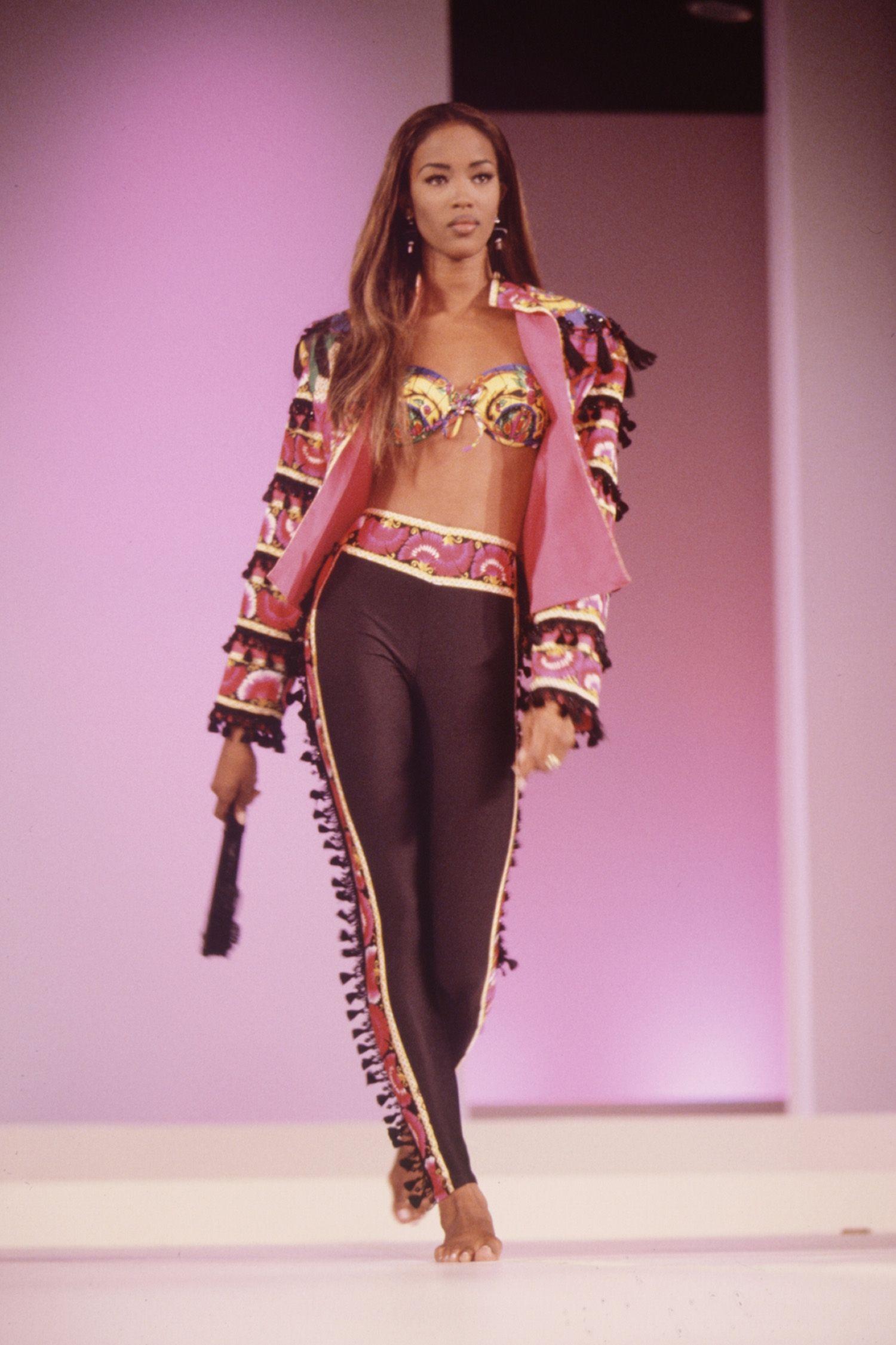 Naomi Campbell's Runway Evolution