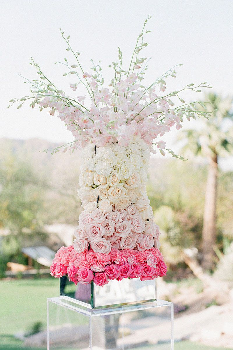 27 Ombre Wedding Detail Ideas - Wedding Decor and Style Ideas