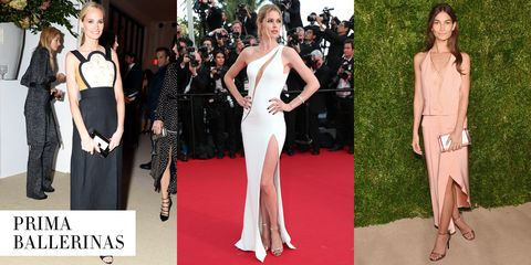 """<strong>The Celebs:</strong> Lauren Santo Domingo, Doutzen Kroes, Lily Aldridge  <strong>The Workout:</strong> Ballet  <strong>The Body Benefits:</strong> The graceful workout leads to better postural alignment, increased core strength, and lean, willowy limbs.  <strong>The Hot Spots:</strong> <a target=""""_blank"""" href=""""https://www.balletbeautiful.com/"""">Ballet Beautiful</a>"""