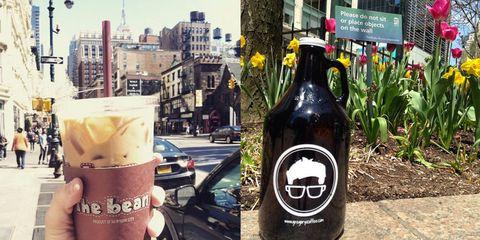 Glass bottle, Bottle, Logo, Drink, Alcoholic beverage, Dessert, Dairy, Alcohol, Frappé coffee, Milkshake,