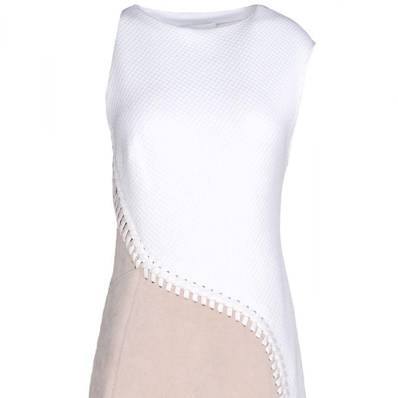 """<strong>3.1 Phillip Lim </strong>dress, $510, <a target=""""_blank"""" href=""""http://shop.harpersbazaar.com/designers/3-1-phillip-lim/cotton-suede-lace-up-dress/"""">shopBAZAAR.com</a>"""