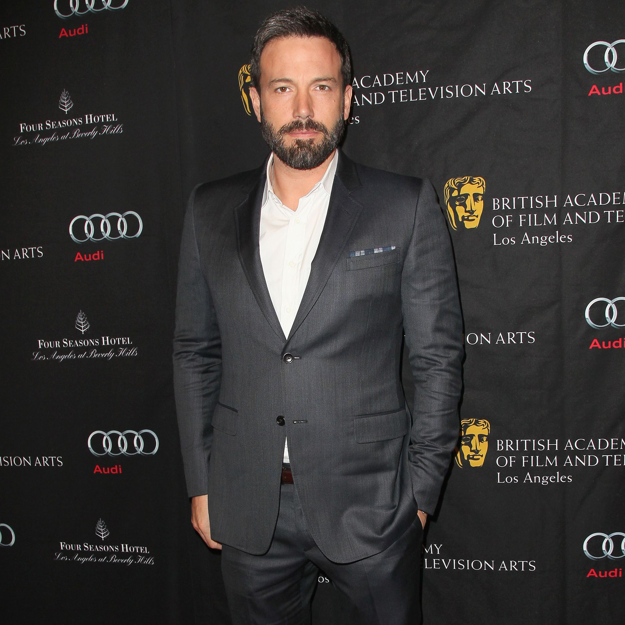 LOS ANGELES, CA - JANUARY 12:  Actor/Director Ben Affleck arrives at the BAFTA Los Angeles 2013 Awards Season Tea Party held at the Four Seasons Hotel Los Angeles on January 12, 2013 in Los Angeles, California.  (Photo by David Livingston/Getty Images)