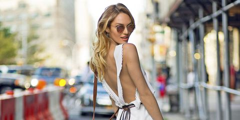 Clothing, Eyewear, Shoulder, Sunglasses, Street fashion, Fashion accessory, Fashion model, Beauty, Fashion, Model,