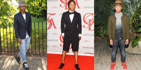 In Photos: Pharell's Best Style Moments