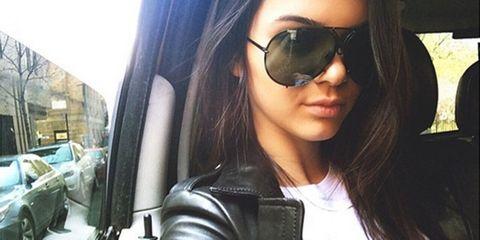Eyewear, Glasses, Vision care, Lip, Hairstyle, Sunglasses, Jacket, Outerwear, White, Black hair,