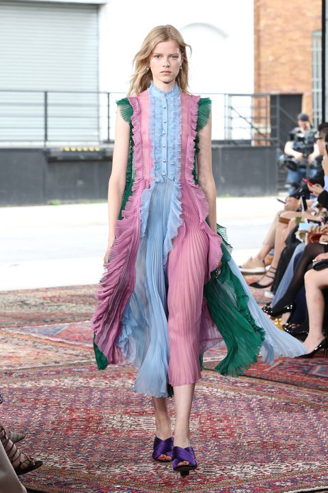 NEW YORK, NY - JUNE 04:  A model walks the runway at Gucci Cruise 2016 at Dia Art Foundation on June 4, 2015 in New York City.  (Photo by Neilson Barnard/Getty Images)