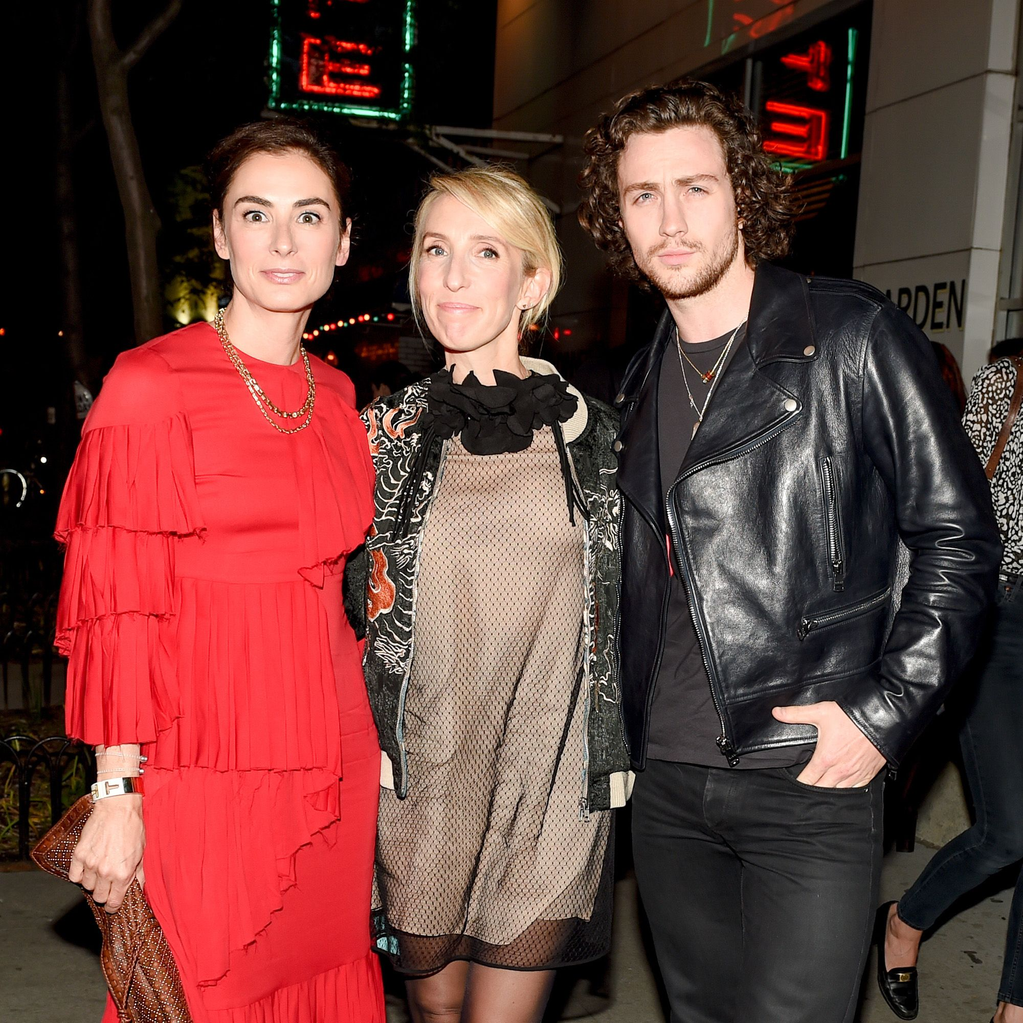 Francesca Amfitheatrof, Sam Taylor-Johnson, Aaron Taylor-Johnson