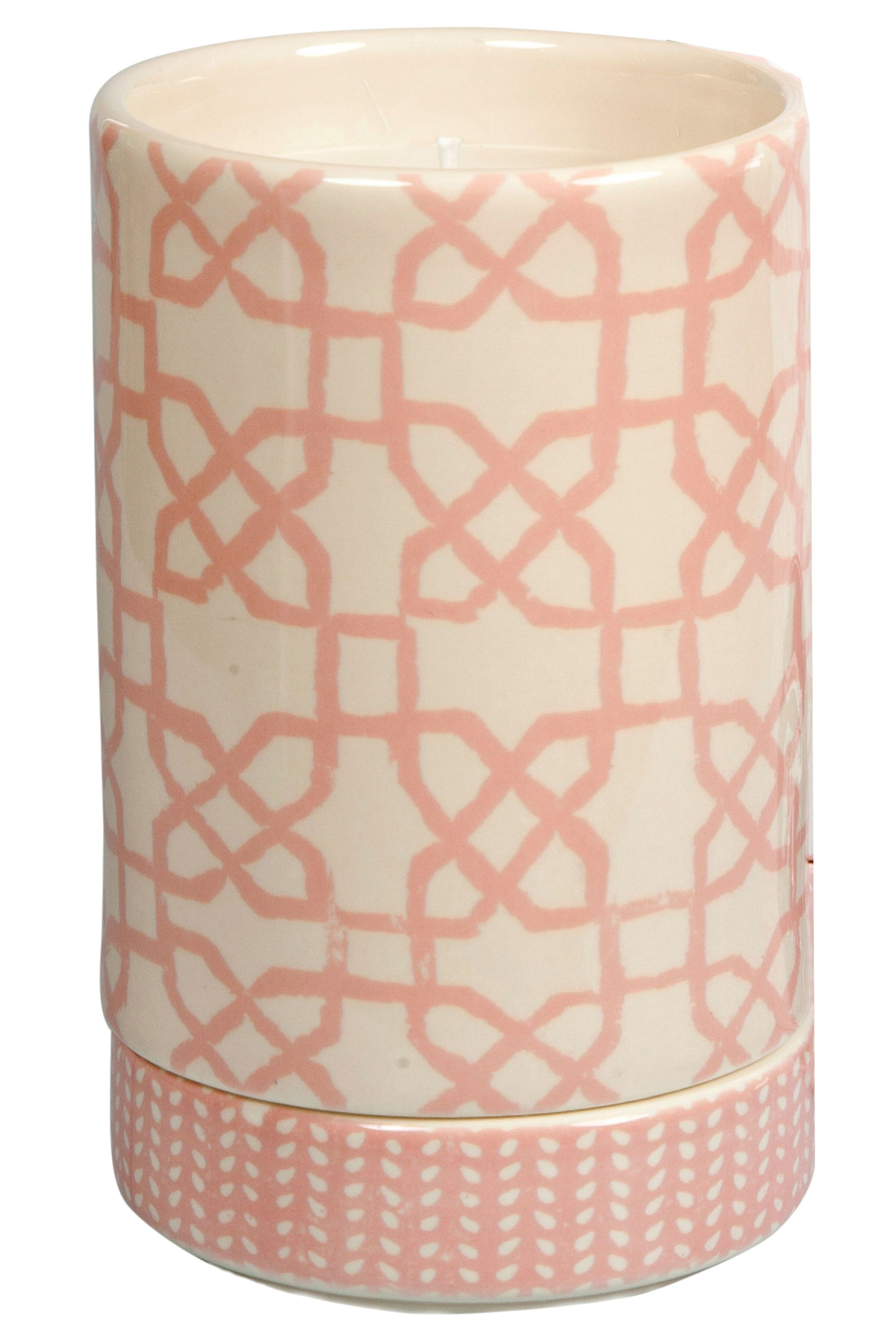 "<strong>Tocca</strong> Pondicherry John Robshaw Collection Candle, $60, <a target=""_blank"" href=""http://www.tocca.com/collections/beauty-home-fragrance-candela/products/pondicherry-john-robshaw-collection-candle#.VW9NIK1g6K0"">tocca.com</a>."