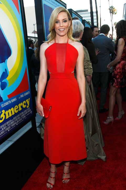 BEVERLY HILLS, CA - JUNE 02:  Actress Elizabeth Banks arrives at the premiere of Lionsgate And Roadside Attractions' 'Love & Mercy' at AMPAS Samuel Goldwyn Theater on June 2, 2015 in Beverly Hills, California.  (Photo by Mark Davis/Getty Images)
