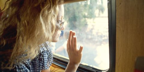 Eyewear, Vision care, Glass, Blond, Brown hair, Transparent material, Passenger, Feathered hair, Layered hair, Gesture,