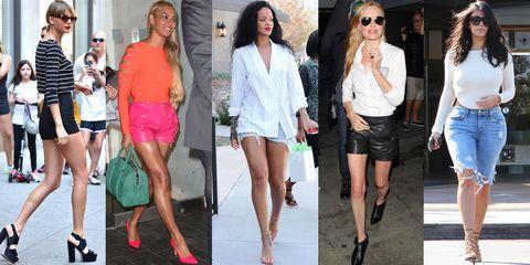 Clothing, Eyewear, Footwear, Leg, Human body, Human leg, Outerwear, Thigh, Fashion accessory, T-shirt,