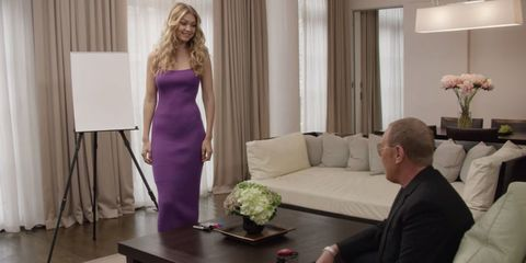 Gigi Hadid and Michael Kors Compete In The First-Ever 'Glamour Games'