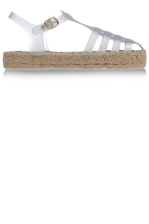 """<strong>Miista</strong> flat, $165, <a target=""""_blank"""" href=""""http://shop.harpersbazaar.com/designers/miista/ariella-espadrille-jelly-flat/"""">shopBAZAAR.com</a>"""