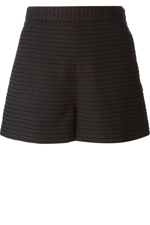 "<strong>Tamara Mellon</strong> shorts, $428, <a target=""_blank"" href=""http://www.farfetch.com/shopping/women/tamara-mellon-a-line-textured-shorts-item-10954005.aspx?storeid=9532&amp;ffref=lp_2_2_"">farfetch.com</a>."