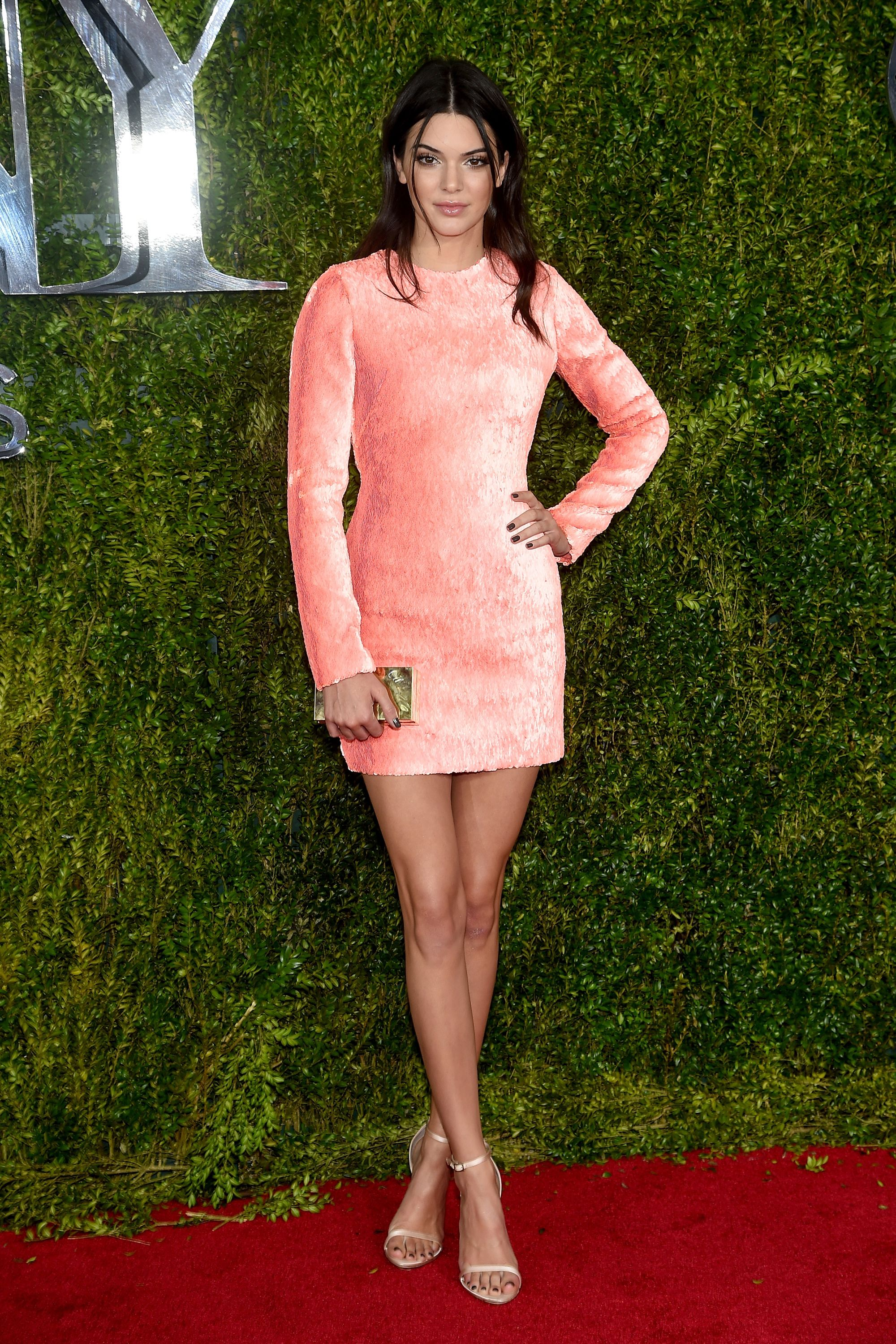 NEW YORK, NY - JUNE 07:  Model Kendall Jenner attends the 2015 Tony Awards  at Radio City Music Hall on June 7, 2015 in New York City.  (Photo by Dimitrios Kambouris/Getty Images for Tony Awards Productions)