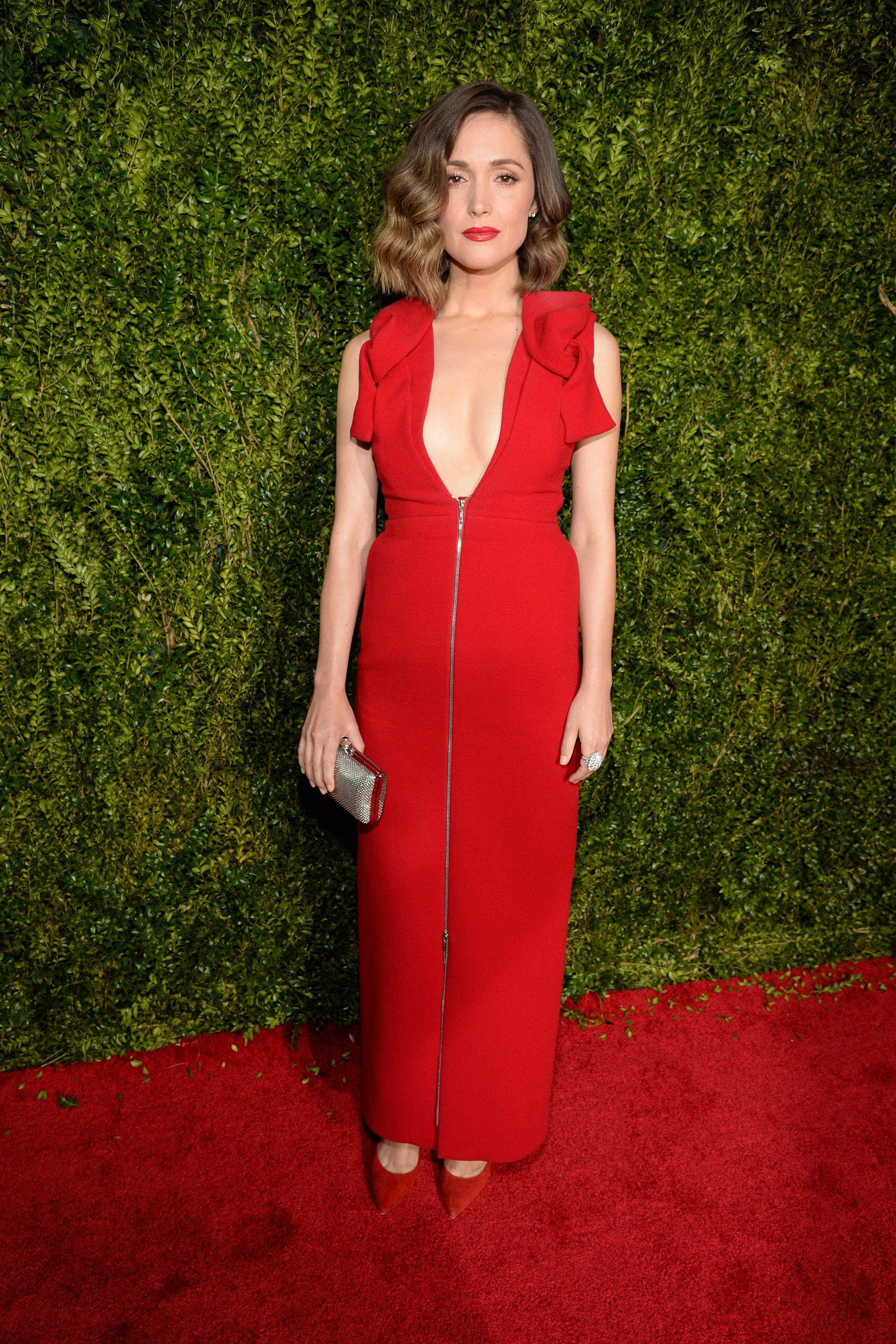 NEW YORK, NY - JUNE 07:  Rose Byrne attends the 2015 Tony Awards at Radio City Music Hall on June 7, 2015 in New York City.  (Photo by Kevin Mazur/Getty Images for Tony Awards Productions)