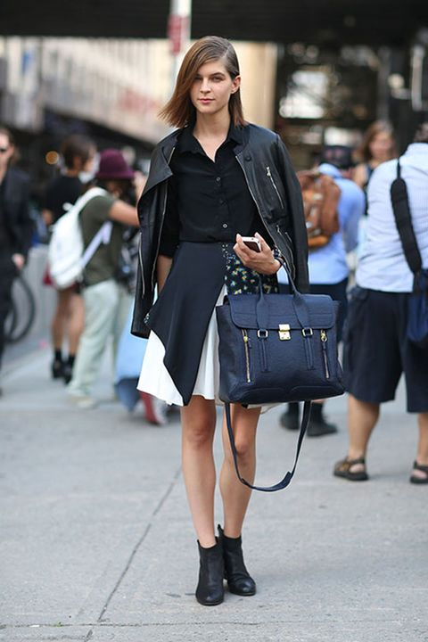 Clothing, Footwear, Leg, Human leg, Photograph, Joint, Bag, Outerwear, Style, Street fashion,