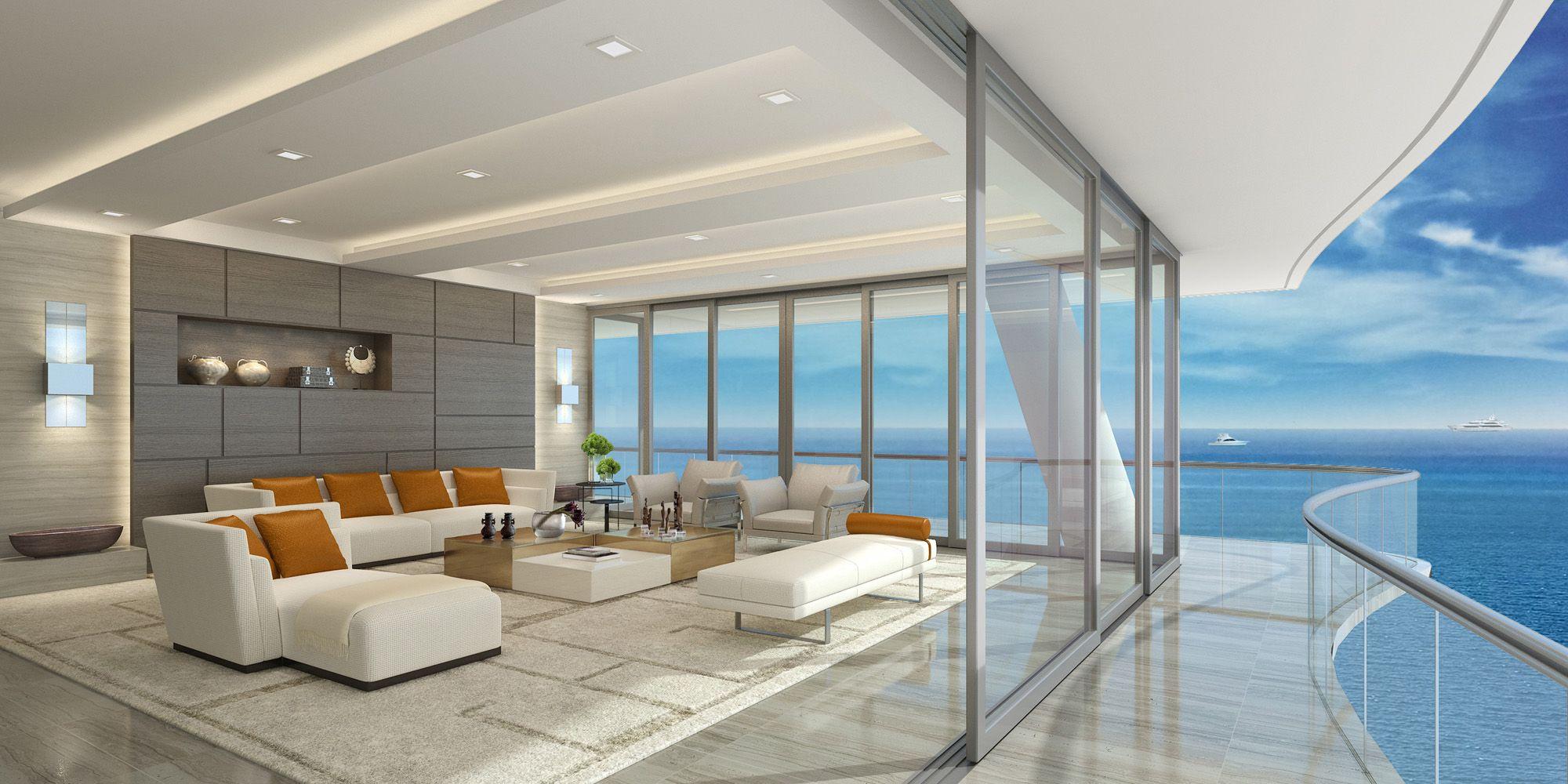 Fendi Chateau Residence Penthouse for Sale in Miami - Fendi Beach ...