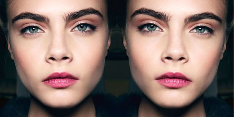 Lip, Cheek, Brown, Skin, Chin, Forehead, Green, Eyelash, Eyebrow, Style,