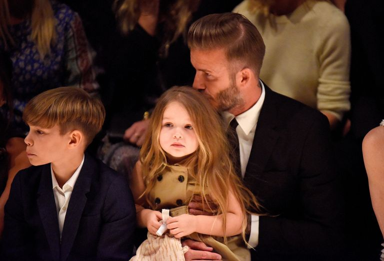 Fans Line Up for Hours to Buy Harper Beckham's Donated Clothes