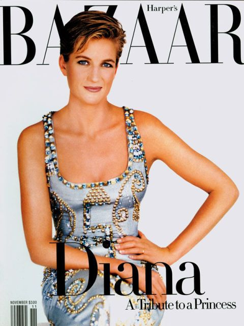 Princess Diana's Famous BAZAAR Gown Goes to Auction
