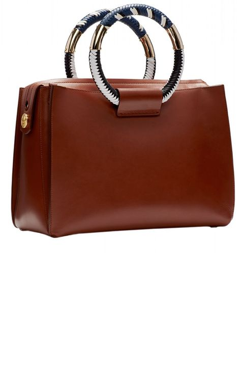"<strong>The Row </strong>bag, $4,900, <a target=""_blank"" href=""http://shop.harpersbazaar.com/designers/the-row/soft-box-classic-5-bag/"">shopBAZAAR.com</a>"
