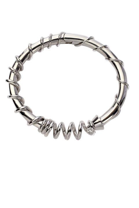 "<strong>Eddie Borgo</strong> bracelet, $250, <a target=""_blank"" href=""http://shop.harpersbazaar.com/designers/eddie-borgo/barb-bracelet/"">shopBAZAAR.com</a><img src=""http://assets.hdmtools.com/images/HBZ/Shop.svg"" class=""icon shop"">."