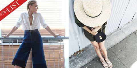 Clothing, Sleeve, Shirt, Textile, White, T-shirt, Style, Fashion accessory, Denim, Hat,
