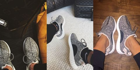 new style a0644 ca528 Kanye West's Yeezy Boost 350 Sneakers Sold Out - Kanye West ...