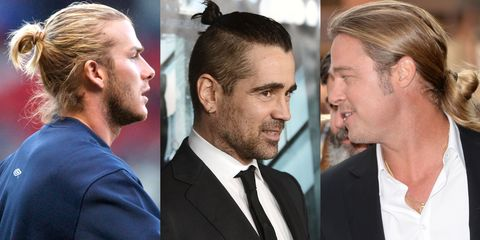 David Beckham, Colin Farrell and Brad Pitt