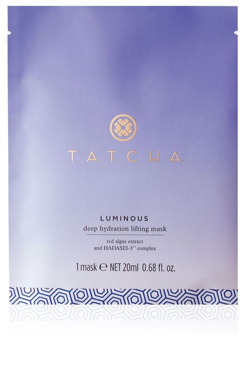 "<strong>Tatcha</strong> Luminous Deep Hydration Lifting Mask, $28, <a target=""_blank"" href=""http://www.tatcha.com/shop/deep-hydration-lifting-mask-1?gclid=CNW80a6mq8YCFYU9gQodGCEJzw"">tatcha.com</a>."