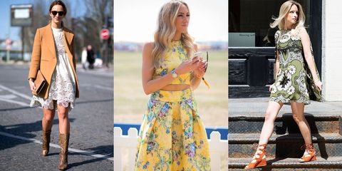 Clothing, Yellow, Dress, Human body, Shoulder, Textile, Photograph, Bag, Outerwear, Pattern,