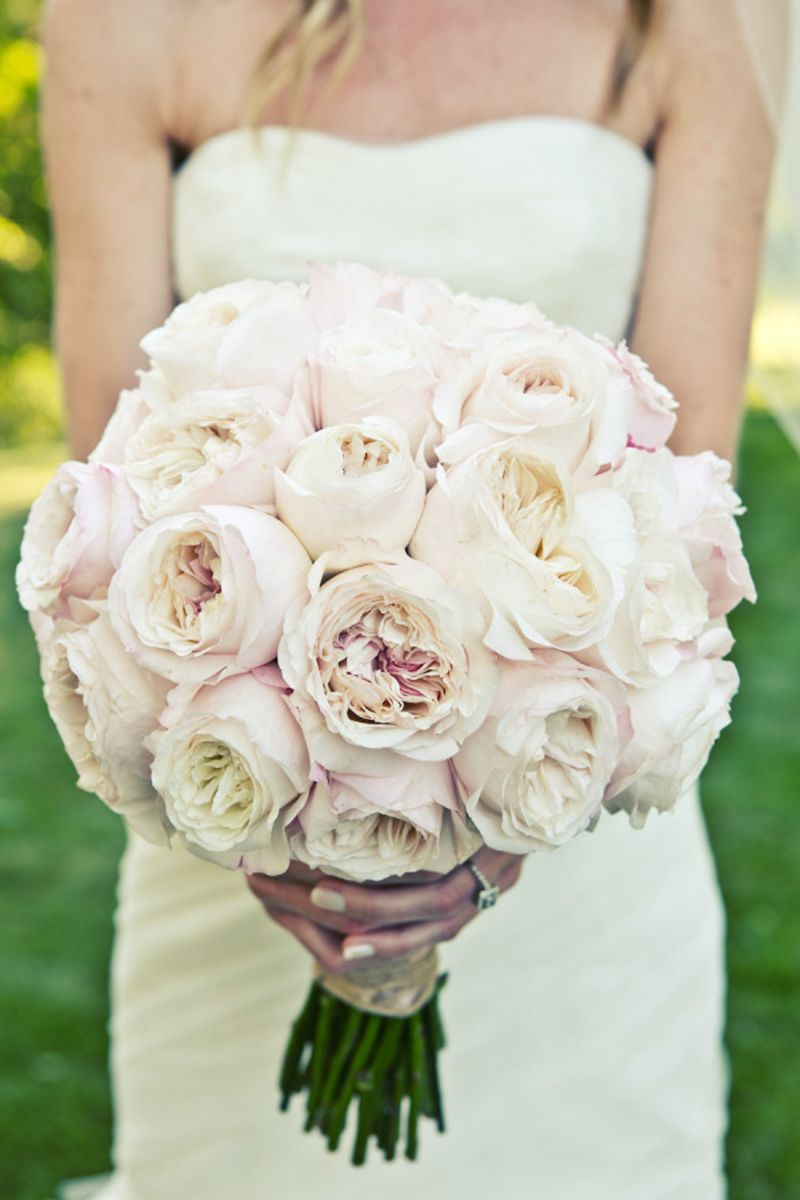 Merveilleux 23 Of The Best Garden Rose Wedding Bouquets   Garden Rose Bouquet Ideas For  Your Wedding