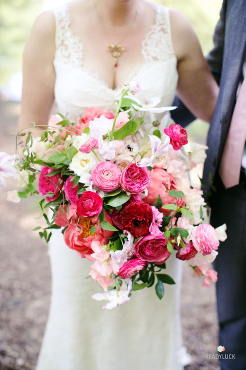 23 of the best garden rose wedding bouquets garden rose bouquet ideas for your wedding - Garden Rose Bouquet