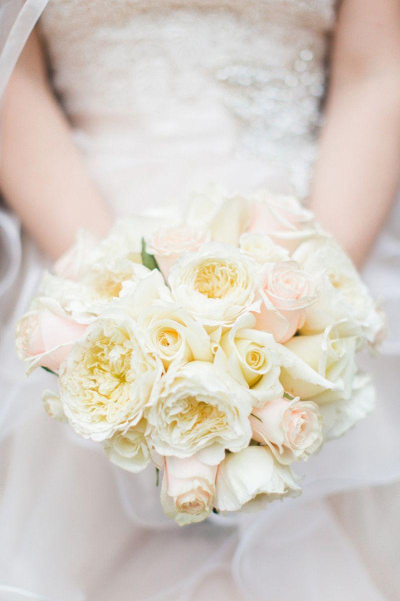 23 of the best garden rose wedding bouquets garden rose bouquet ideas for your wedding