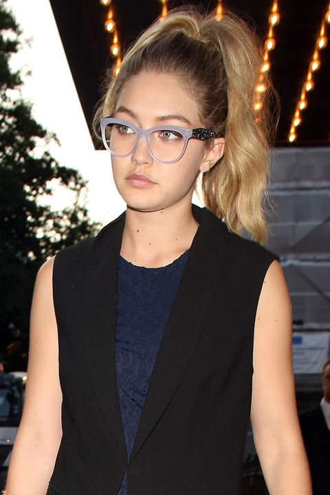 a14bc126e7 Gigi Hadid Makes the Case for Statement Specs-Chic Miu Miu Frames