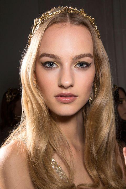 Nose, Lip, Mouth, Hairstyle, Eye, Skin, Eyebrow, Eyelash, Hair accessory, Style,
