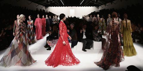 Event, Formal wear, Dress, Gown, Suit, Costume design, Fashion, Haute couture, Fashion model, One-piece garment,