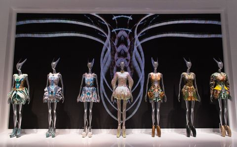 """The Savage Beauty Exhibition at the V&A in London: Throughout his career, McQueen loved to push craftsmanship to its creative limits. I took my teenage boys and 7-year-old daughter so they could see the possibilities that a creative mind can produce."""