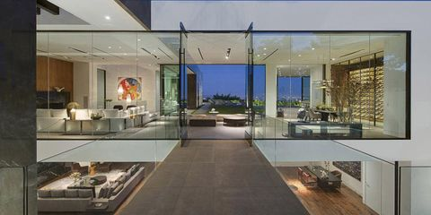 Inside Calvin Klein's New Los Angeles Mansion