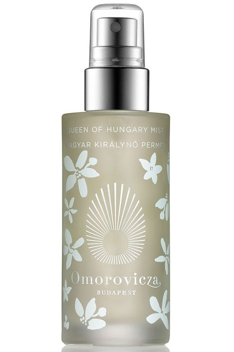 """Rich range blossom energizes the senses.  <strong>Omorovicza</strong> Queen of Hungary Face Mist Special Edition, $50, <a target=""""_blank"""" href=""""http://www.omorovicza.com/queen-of-hungary-mist-special-edition.html/"""">omorovicza.com</a>."""