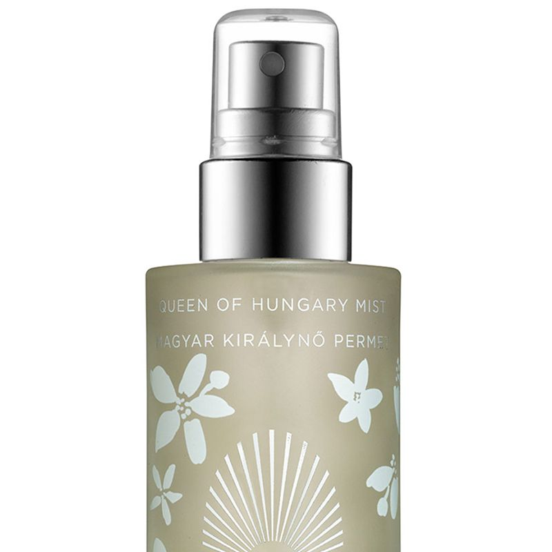 """Rich range blossom energizes the senses.<strong>Omorovicza</strong> Queen of Hungary Face Mist Special Edition, $50, <a target=""""_blank"""" href=""""http://www.omorovicza.com/queen-of-hungary-mist-special-edition.html/"""">omorovicza.com</a>."""