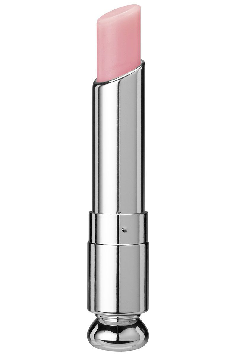 "<strong>Currently in my handbag</strong><em>:</em> ""Wallet, cell, organic snacks, toys, Dior Addict Lip Glow.""   <strong>Dior</strong> Addict Lip Glow in 001, $33, <a target=""_blank"" href=""http://www.dior.com/beauty/en_us/makeup/lips/lips-primers/pr-lipprimers-Y0027010-color-awakening-lipbalm.html?gclid=CjwKEAjwt_isBRDuisOm1dTQqGISJAAfRrEADU2DCZKJHwjuuWw8YTNm6XOaVlabCtYXBXUK3pcQhBoCTPDw_wcB"">dior.com</a>."