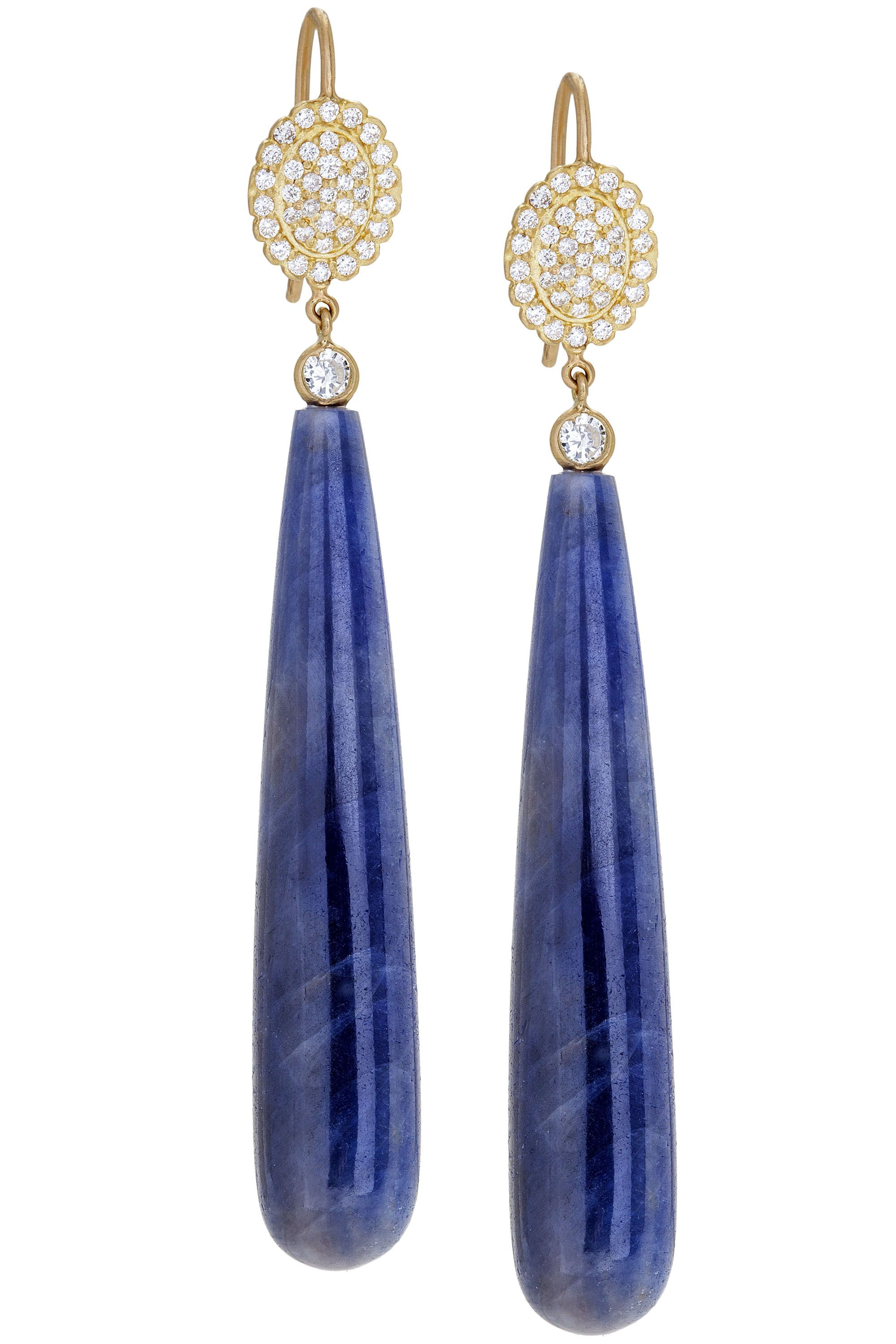"<strong>Jamie Wolf </strong>earrings, $4,950, <a target=""_blank"" href=""http://jamiewolf.com/collections/earrings?page=2"">jamiewolf.com</a>."
