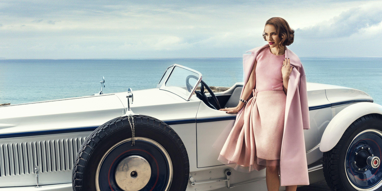 "<p><strong>Dior </strong>coat, $3,200, top, $2,200, and skirt, $3,500, 800-929-DIOR&#x3B; <strong>Bulgari</strong> bracelet, $61,000, and ring, $11,300, <a target=""_blank"" href=""http://bulgari.com"">bulgari.com</a>.</p>"