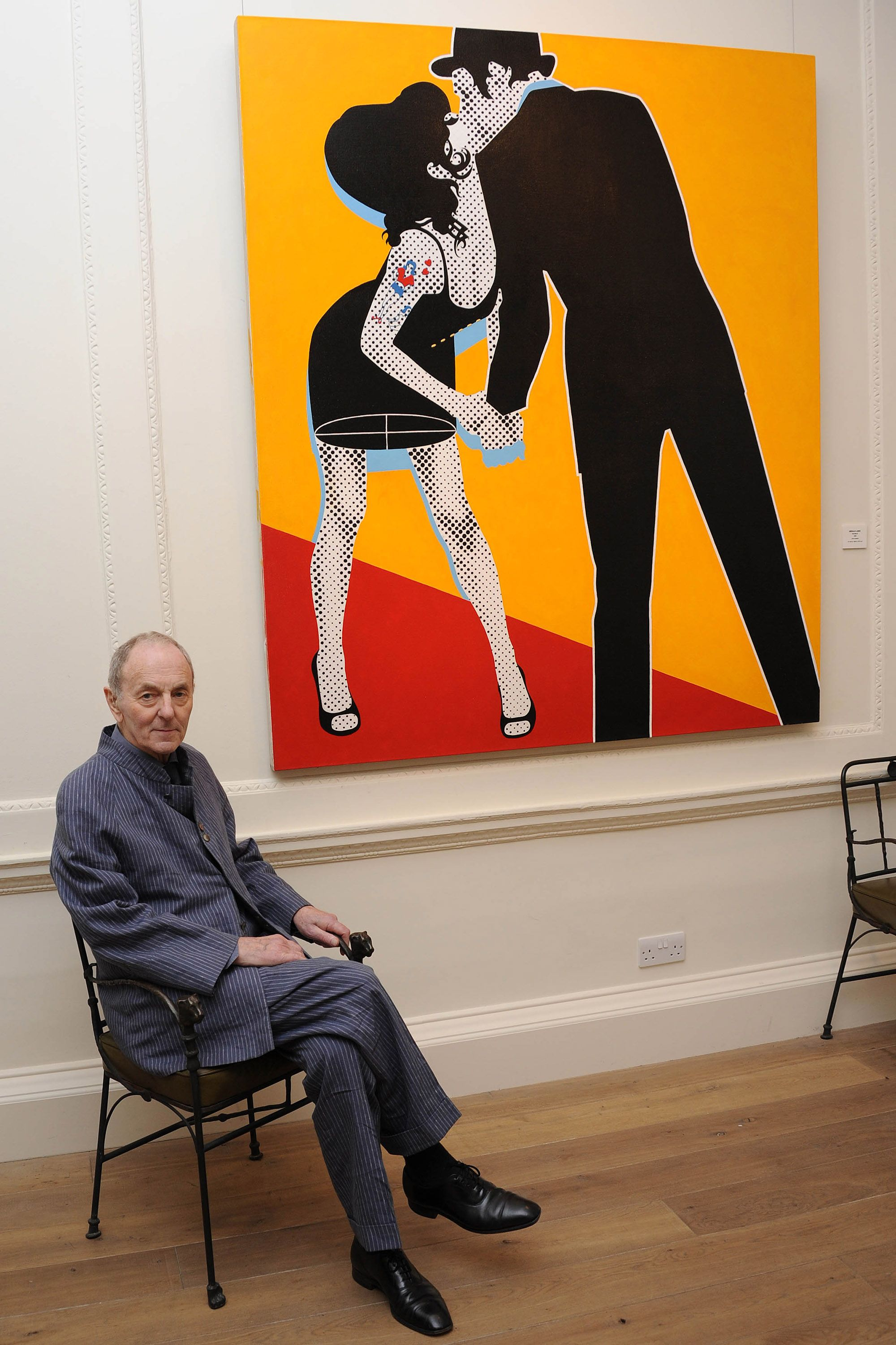 """""""Gerald Laing. As one of the original wave of pop artists he produced some of the most significant works of art of the British movement."""""""