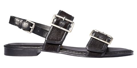 "<em>The Frye Company</em><em> sandal, $258, </em><em><a target=""_blank"" href=""http://www.thefryecompany.com/women-sandals-shoes/l/125"">thefryecompany.com</a>.</em>"